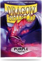 Asmodee SLEEVES Dragon Shield MATTE - Purple (100ct) - EN