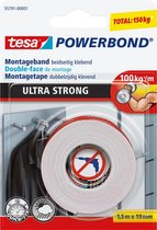 Tesa Powerbond Ultra Strong montagetape 1,5 m x 19