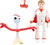 Toy Story 4 Forky & Duke Caboom - Speelfiguur
