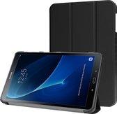 Samsung Galaxy Tab A 10.1 2016 Hoesje Book Case Tablet Cover - Zwart