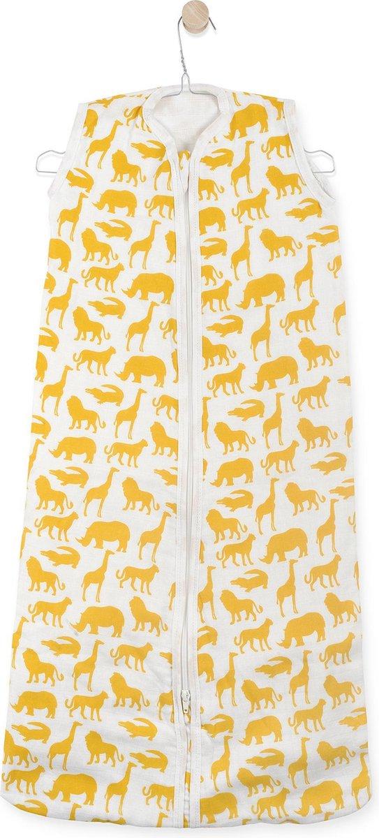 Jollein Safari Baby Slaapzak zomer - hydrofiel - 90cm - ocher