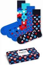Happy Socks Navy  Giftbox - Maat 41-46