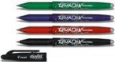 Frixion BL-FR7 rollerball pen BASIC – 4 kleuren/stuks
