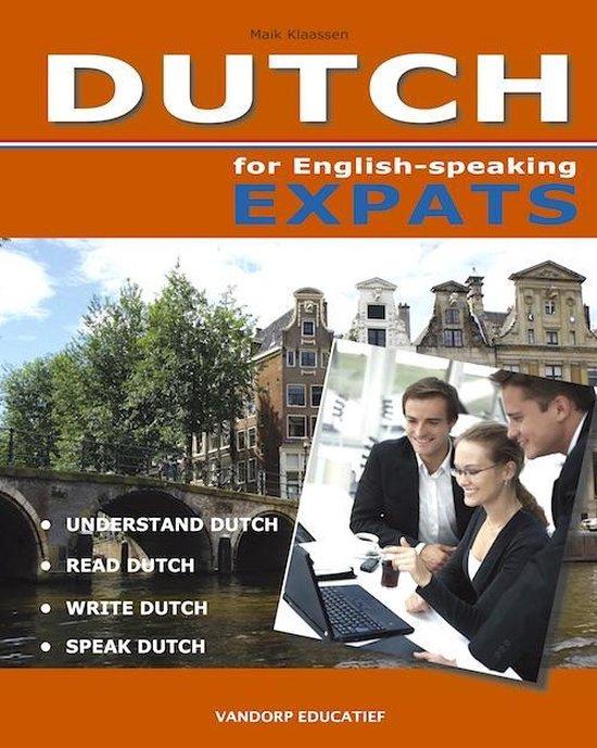 Boek cover Dutch for English-speaking Expats van Mike Klaassen (Paperback)
