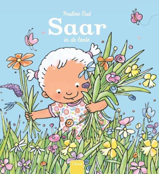 Boek cover Saar  -   Saar in de lente van Pauline Oud (Hardcover)
