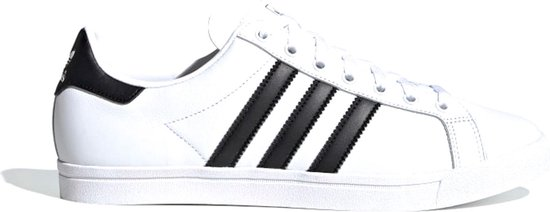 adidas Coast Star Heren Sneakers - Ftwr White/Core Black/Ftwr White - Maat 44 2/3
