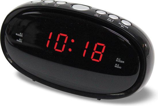Denver CR-420 - Wekkerradio - Zwart