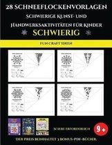 Fun Craft Ideen 28 Schneeflockenvorlagen - Schwierige Kunst- und Handwerksaktivit ten f r Kinder