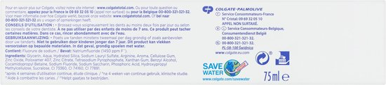 Colgate Total Visible Action Tandpasta 4x 75 ml