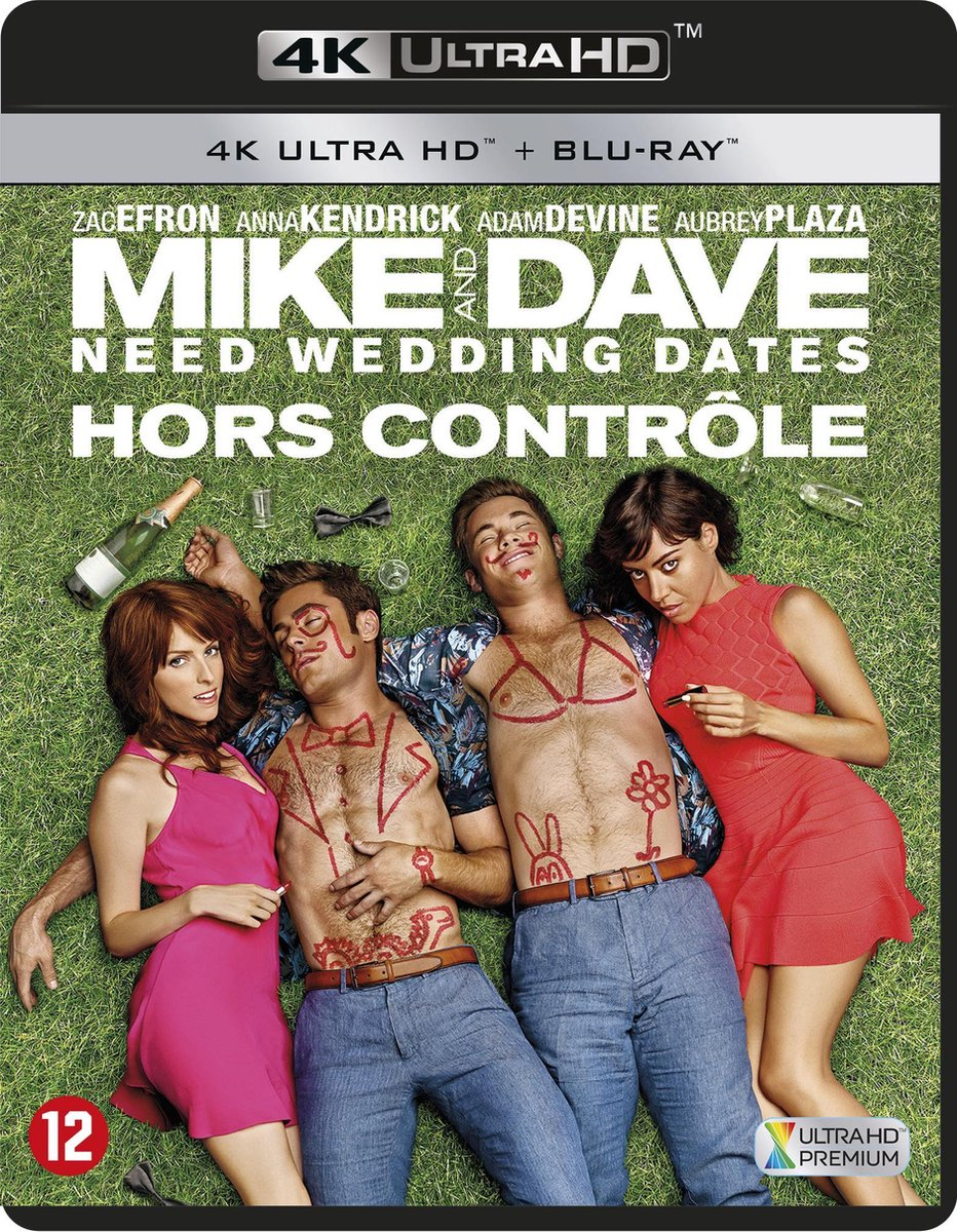 Mike And Dave Need Wedding Dates (4K Ultra HD Blu-ray)-