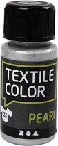 Textile Color, zilver, pearl, 50ml