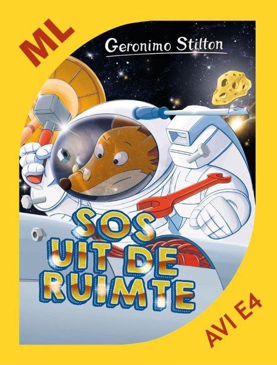 Boek cover Geronimo Stilton 54 -   SOS uit de ruimte van Geronimo Stilton (Hardcover)