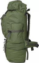 Backpack Rugzak Groen 100L (INCL Toiletbril doekjes) - Militaire leger tas - Plunjezak - Sporttas - Plunje rugzak
