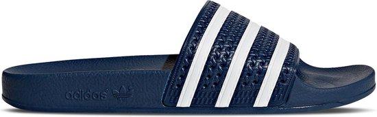 adidas - Heren Slippers adilette - Blauw - Maat 38