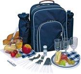 Picknicktas 4 persoons Hyde Park - Blauw