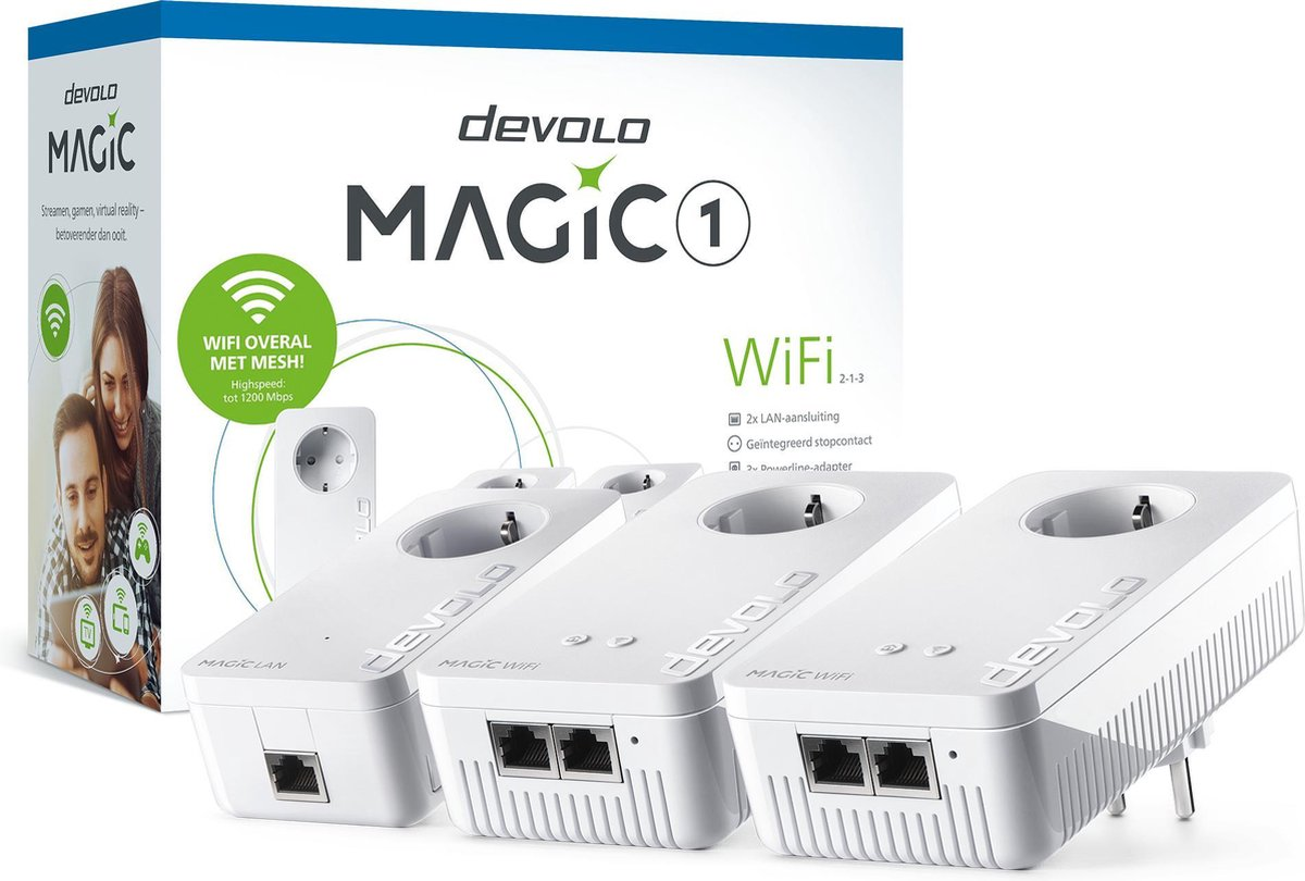 devolo Magic 1 WiFi Multiroom Kit - NL