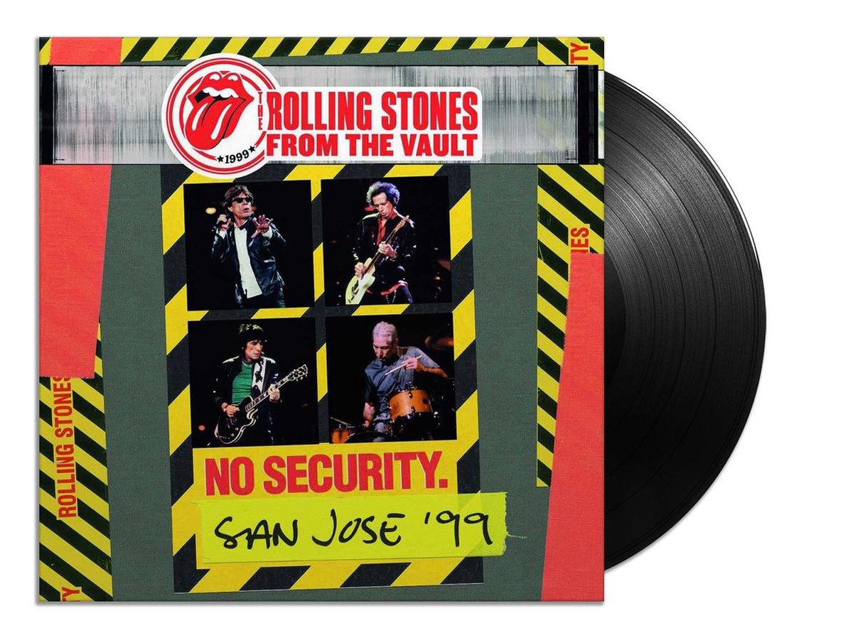 From The Vault: No Security - San Jose 1999 (LP) - Rolling Stones, The