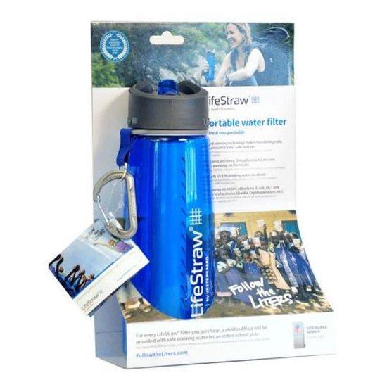 LifeStraw® waterfilterfles Go 650ml - blauw