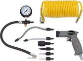 Powerplus POWAIR0022 Blaaspistool set - Pneumatisch - Max. 8 bar - Incl. 9 accessoires