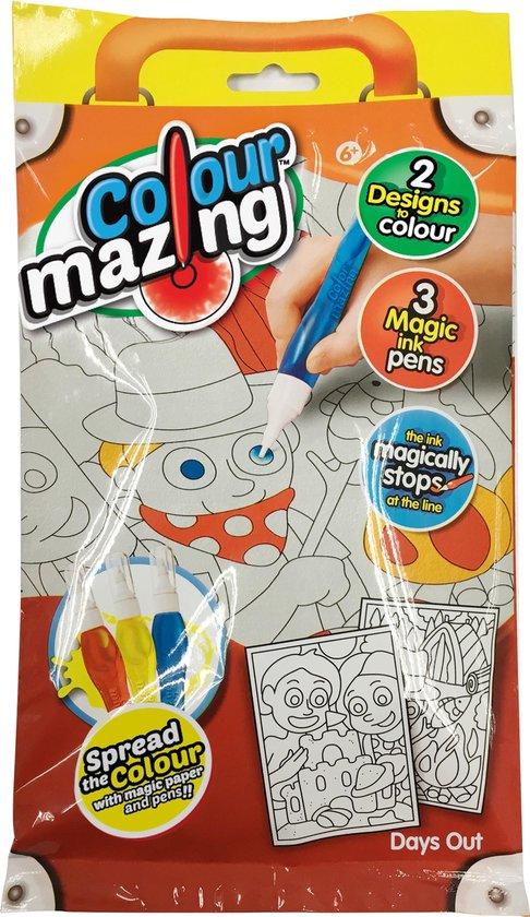 Colormazing Travelset - Avontuur - 3 tover-inktpennen inbegrepen