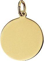 The Jewelry Collection Graveerhanger - Goud