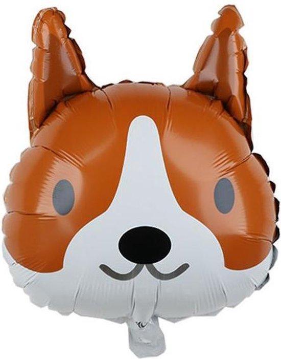Folieballon XL - 45cm - Hond