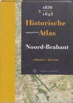 Boek cover Historische topografische Atlas 1836-1843 Noord-Brabant van Huib Stam