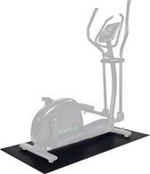 Tunturi Crosstrainer mat - Vloerbeschermmat - 160 x 87 x 0,5 cm - Zwart