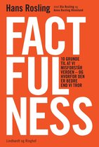 Boek cover Factfulness van Hans Rosling
