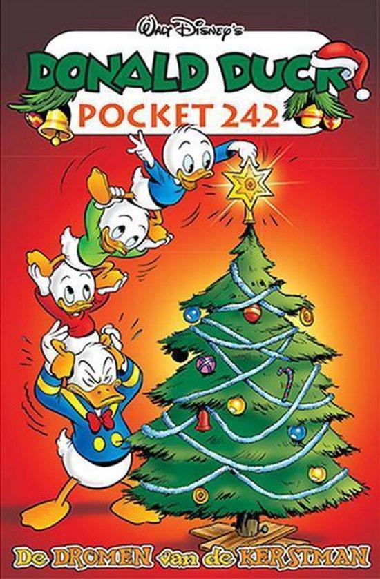 DonaldDuck Pocket 242 - De dromen van de kerstman +KAARTSPEL HARTEN - Disney  