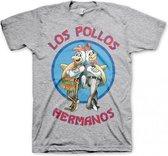 T-shirt Breaking Bad Los Pollos grijs XL
