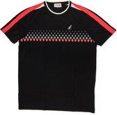Australian Tennis Shirt Dry Light - Ronde Hals - Zwart - Roze - Wit - Maat XL (54)