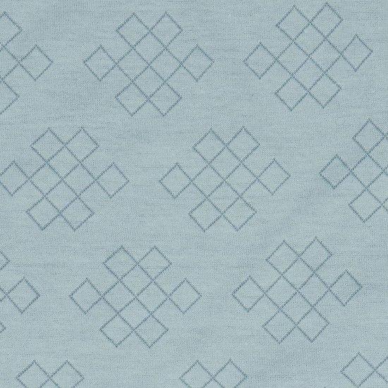 Lodger Ledikanthoeslaken - Slumber Empire - Blauw - 70x140 cm