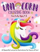 Unicorn Coloring Book for Kids Ages 4-8