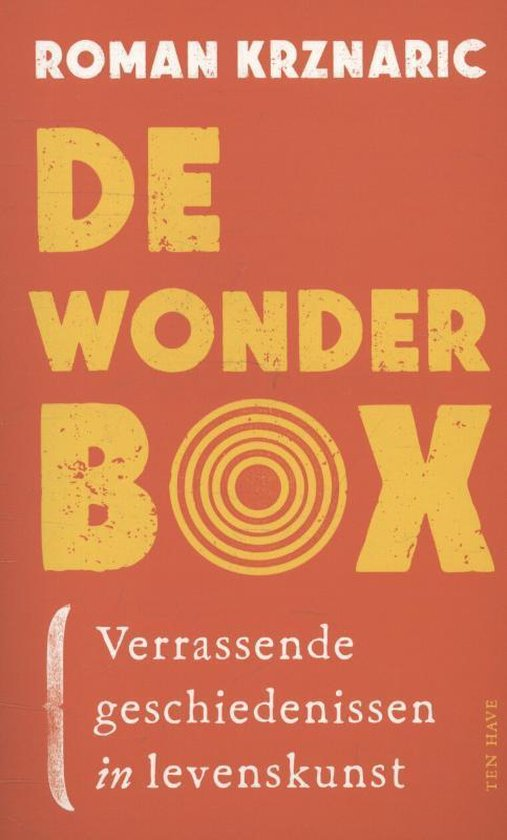 Boek cover De wonderbox van Roman Krznaric (Paperback)