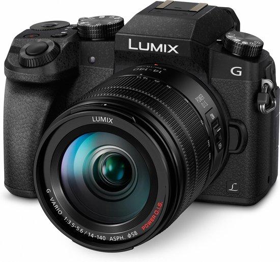 Panasonic Lumix DMC-G7 + 14-140mm - Zwart