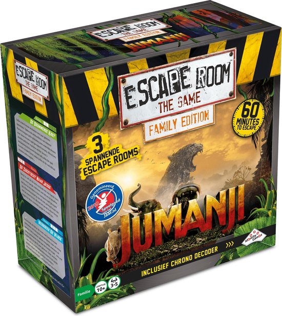 Escape Room The Game - Jumanji Familie Editie