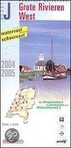 ANWB Waterkaart Grote Rivieren West (J) 2004/2005