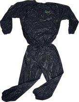 Tunturi Zweetpak -Sauna Suit - Sauna pak - XL - Zwart