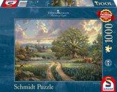 Schmidt Puzzel - Thomas Kinkade