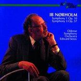 Ib Norholm: Symphony Nos 1 & 3 / Serov