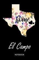 Home - El Campo - Notebook