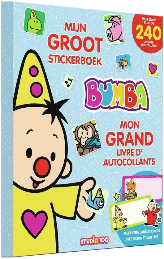 Afbeelding van Studio 100 Stickerboek Bumba Junior Papier speelgoed