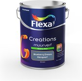 Flexa Creations Muurverf Extra Mat - Blueberry Dream - Mengkleuren Collectie - 5 Liter
