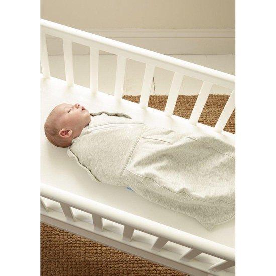 Tommee Tippee Gro Snug inbakerdoek Pasgeborene 0-3 maanden - Lichtgrijs lampje (60 cm)