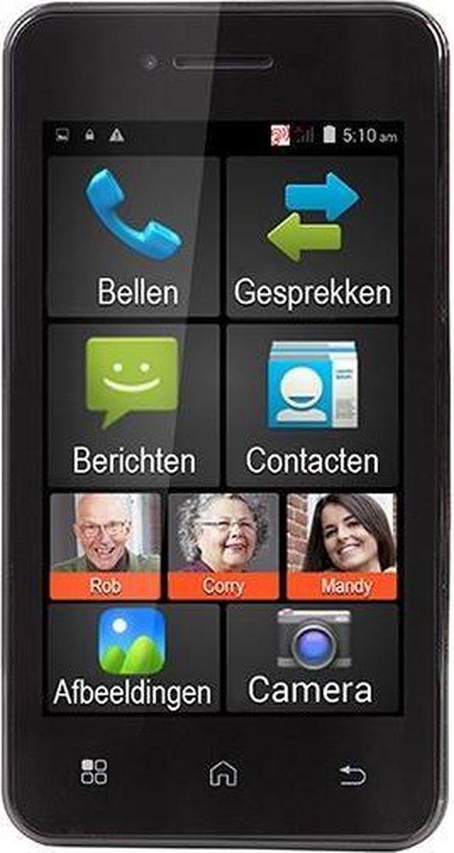 Fysic FMA-5000ZT Senioren Smartphone – Voor senioren ontworpen smartphone met android – Zwart