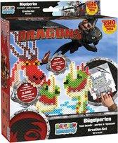 Dreamworks Strijkkralen Dragons Creative Set 2200 Stuks