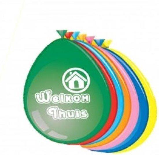 Ballonnen 'Welkom Thuis'