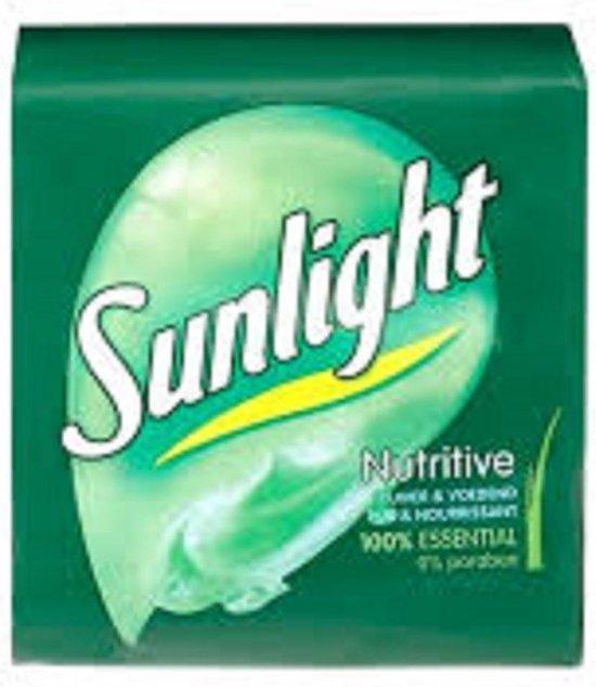 Sunlight nutritive zeep 125 gram - 6 stuks