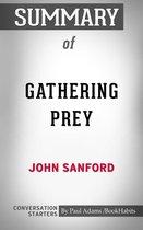 Boek cover Summary of Gathering Prey van Paul Adams
